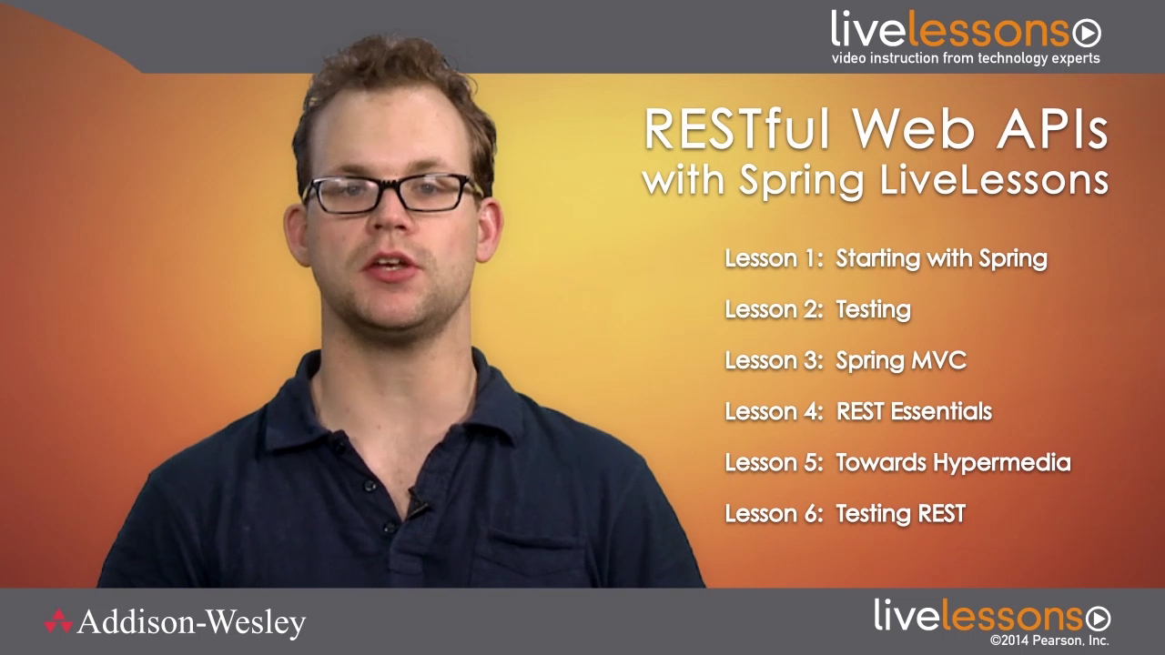 RESTful Web APIs with Spring RESTful Web APIs with Spring
