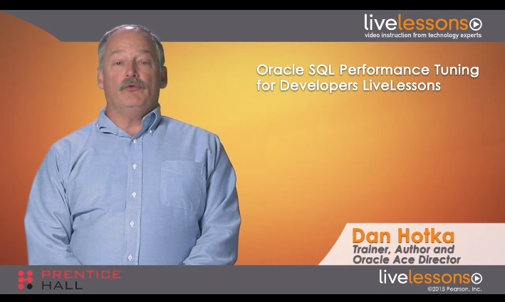 Oracle SQL Performance Tuning for Developers Oracle SQL Performance Tuning for Developers