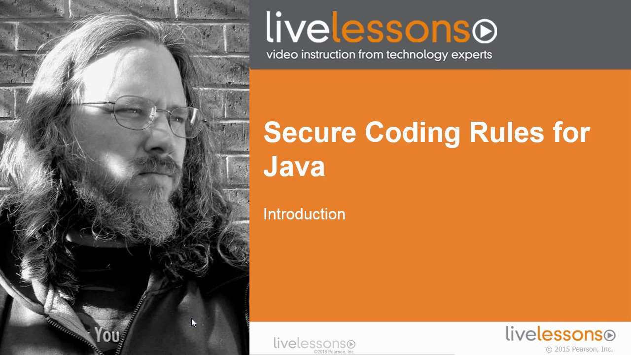 Secure Coding Rules for Java, Part I Secure Coding Rules for Java, Part I