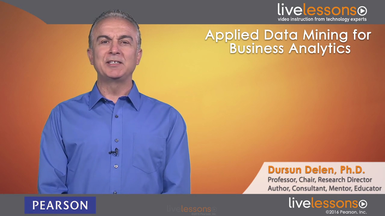 Applied Data Mining for Business Analytics Applied Data Mining for Business Analytics