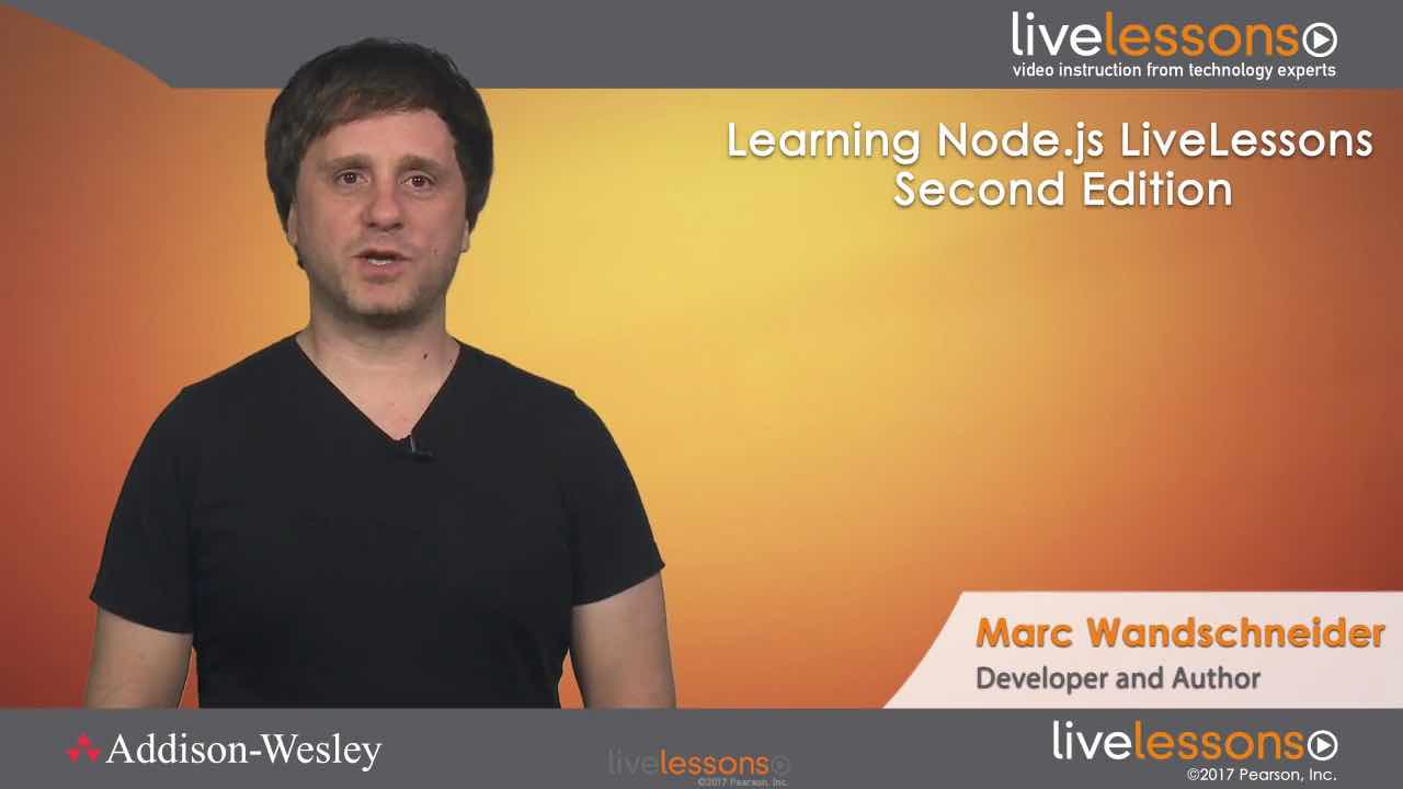 Learning Node.js, Second Edition Learning Node.js, Second Edition
