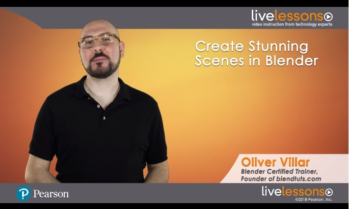 Create Stunning Scenes in Blender LiveLessons: Techniques for Modeling and Rendering 3D Images Create Stunning Scenes in Blender LiveLessons: Techniques for Modeling and Rendering 3D Images
