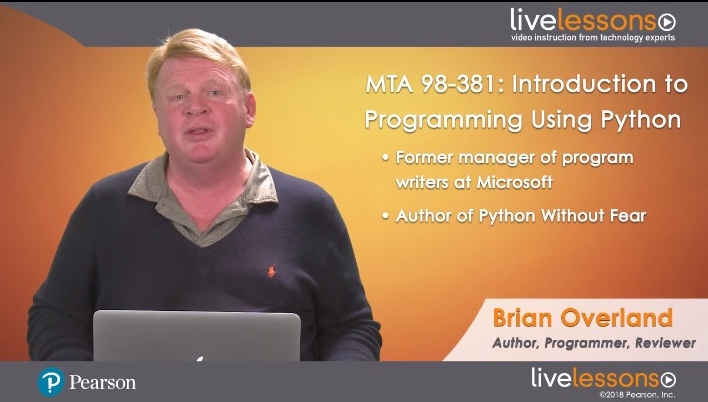 MTA 98-381: Introduction to Programming Using Python MTA 98-381: Introduction to Programming Using Python