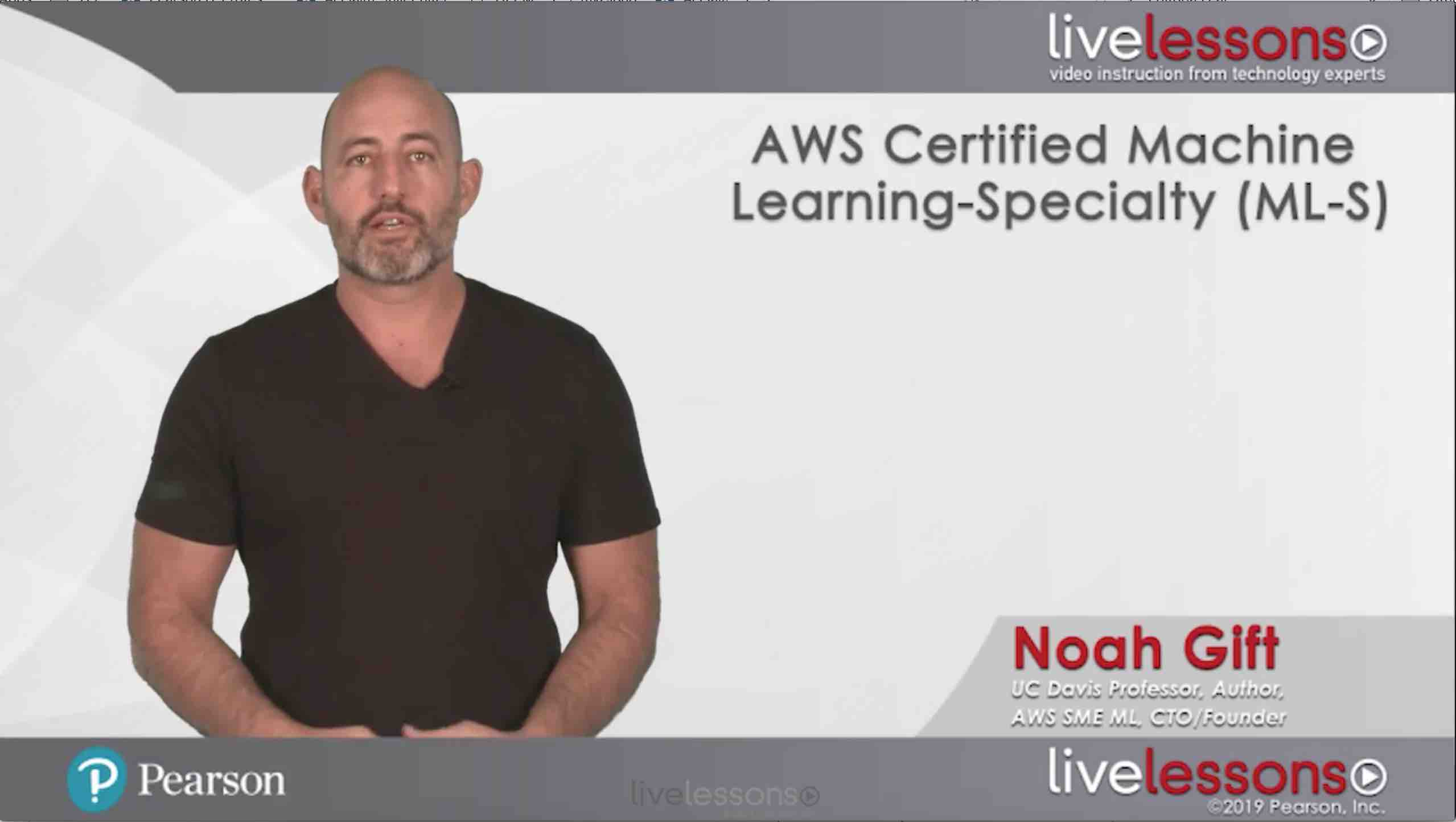 AWS Certified Machine Learning-Specialty (ML-S) AWS Certified Machine Learning-Specialty (ML-S)