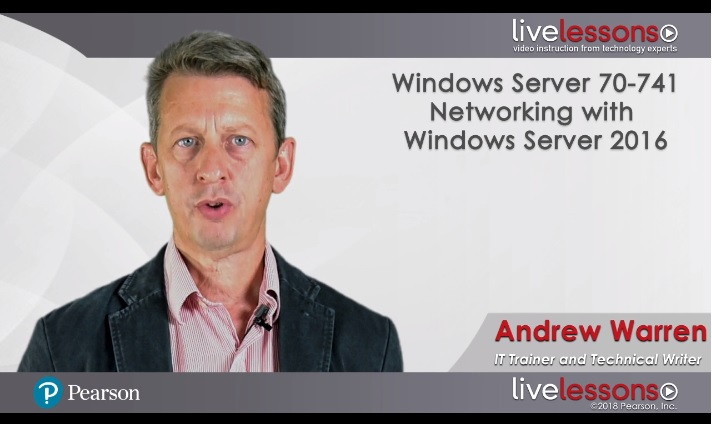 Windows Server 70-741: Networking with Windows Server 2016 Windows Server 70-741: Networking with Windows Server 2016