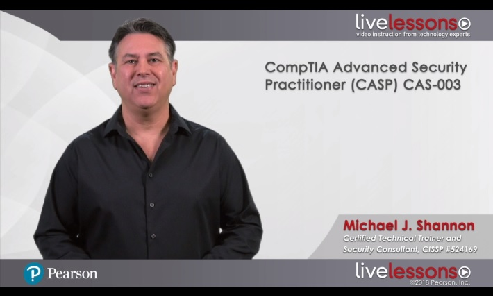 CompTIA Advanced Security Practitioner (CASP) CAS-003 9780789759382