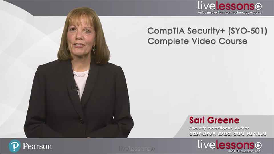 CompTIA Security+ (SY0-501) CompTIA Security+ (SY0-501)